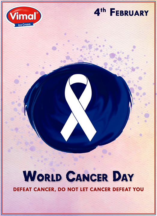 Vimal Ice Cream,  WorldCancerDay!, CancerDay, WorldCancerDay2017, VimalIcecream, Ahmedabad