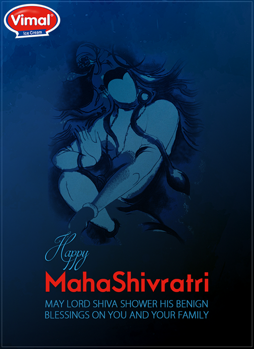 Vimal Ice Cream wishes you all a very #HappyMahaShivratri!  #MahaShivratri #VimalIceCreams #IceCreamLovers