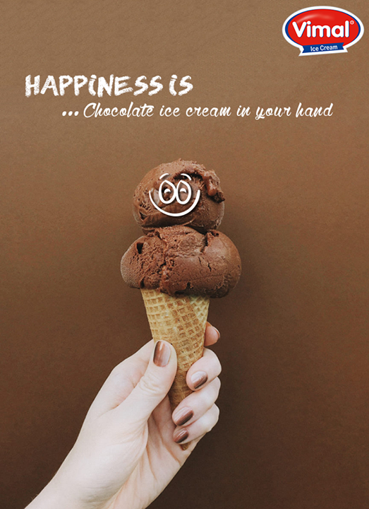 #Laughter may be the best medicine but sometimes you need a dose of CHOCOLATE <3  #IcecreamQuote #QOTD #IceCream #Flavorful #VimalIceCreams #IceCreamLovers