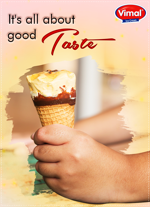Life is always more fun with a #VimalIcecream ice cream in your hand!  #IcecreamWorld #HeatBeat #FavoriteIceCream #IcecreamLovers #Vimal #ICecream #Ahmedabad