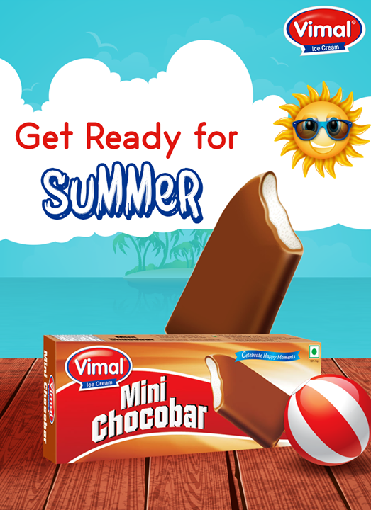 This Summer take a tour into your childhood by taking a bite of #Chocobar!  #Summer #VimalIceCreams #IceCreamLovers #SummerTime