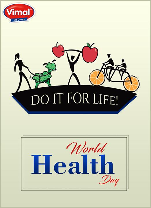 Vimal Ice Cream,  WorldHealthDay, HealthDay, WHD, VimalIceCreams, SummerTime