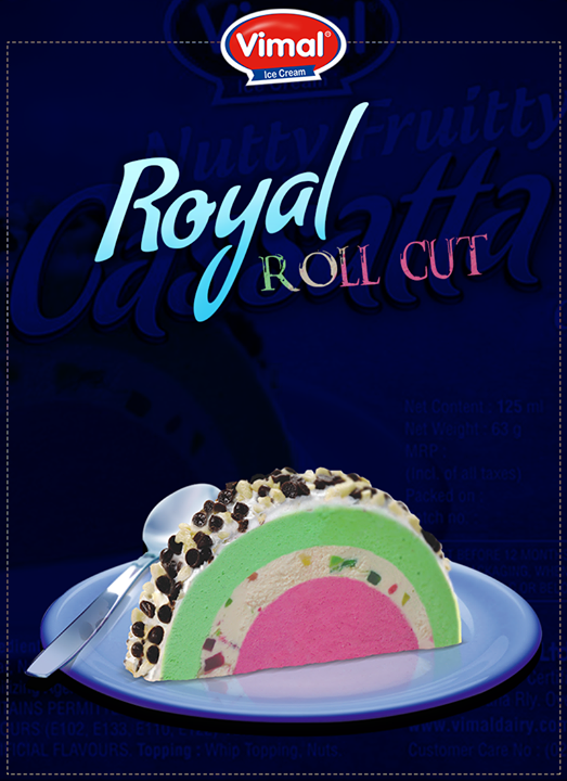 Celebrate royal moments with our Nutty Fruity Cassatta!  #RoyalMoments #RockNRoll #Summer #SummerTime #VimalIceCreams