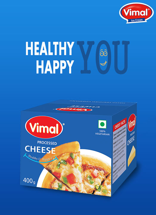 Vimal Ice Cream,  CheesyFacts:, HealthyYou, HappyYou, Cheese, CheeseLovers, VimalIceCreams, VimalProducts