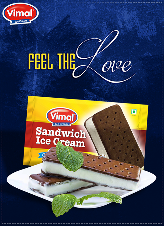 Enjoy the sweetness of everyday life with love. <3 :)  #FeelLove #Sweetness #VimalIcecream #IceCreamMania #IcecreamLovers #IcecreamLoves #IceCream #Ahmedabad