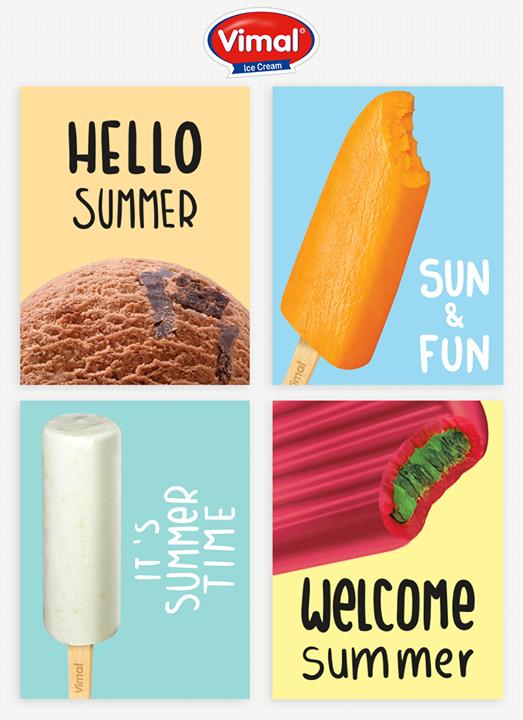 Celebrate #Happiness This Summer @ Vimal Ice Cream! :) <3 🍧🍦  #SummerTime #VimalIcecream #IceCreamMania #IcecreamLovers #IcecreamLoves #IceCream #Ahmedabad