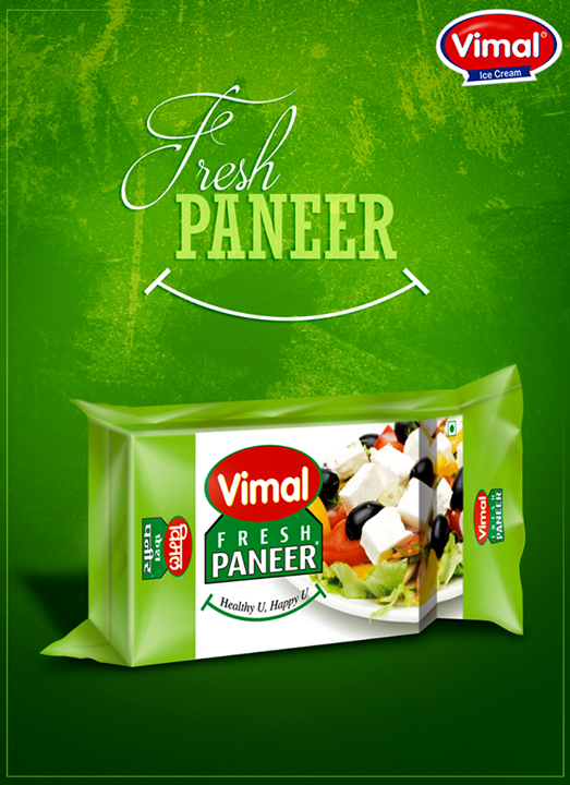 What are you cooking today with Vimal Ice Cream's fresh paneer?  #VimalIcecream #Paneer #FreshPaneer #VimalProducts  #Ahmedabad
