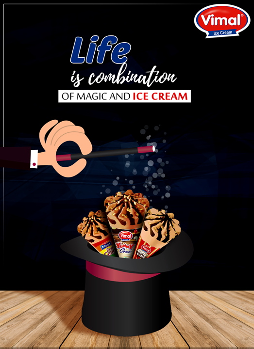 Do you agree guys? 😉🎩   #IcecreamQuote #MagidIcecreamWorld #IcecreamWorld #Favorite #IcecreamLovers #Vimal #ICecream #Ahmedabad
