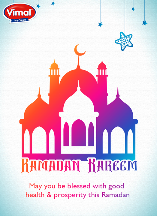 Wishing everyone a Happy Ramadan!  #HappyRamadan #Ramadan #Vimal #ICecream #Ahmedabad