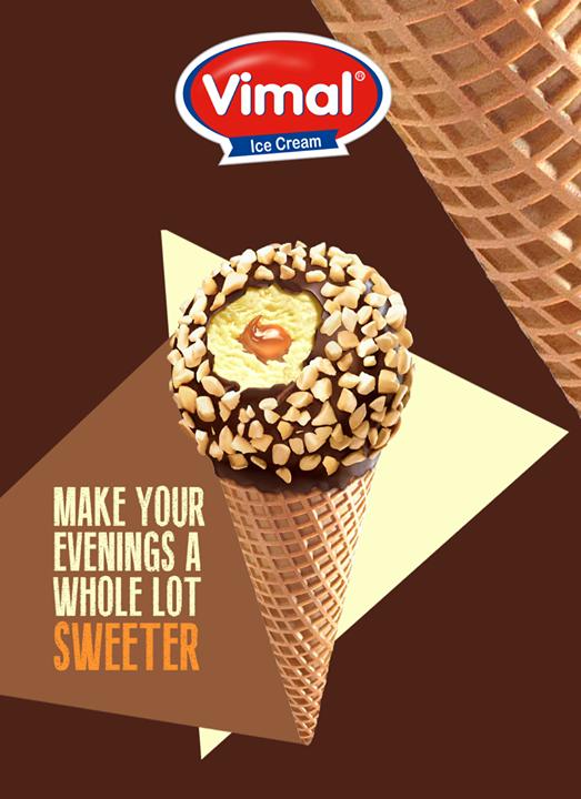 Add some ice-cream to you rainy evening!  #MonsoonTime #IceCreamLovers #Vimal #ICecream #Ahmedabad