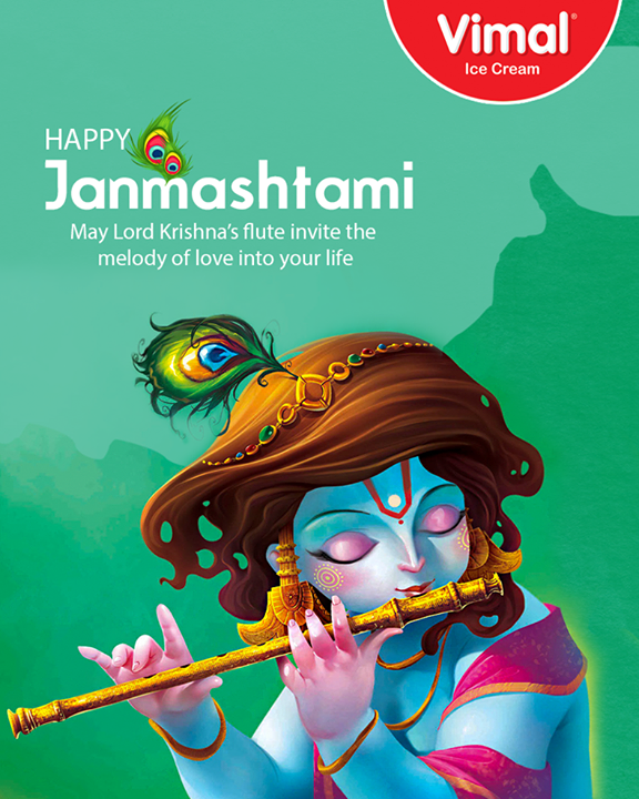 May you find all the delights of life  #Janmashtami #Janmashtami2017 #IndianFestivals #JanmashtamiCelebrations #IceCreamLovers #Vimal #IceCream #Ahmedabad
