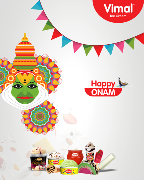 Vimal Ice Cream,  Onam., HappyOnam, Vimal, IceCream, VimalIceCream, RoyalTaste, Ahmedabad