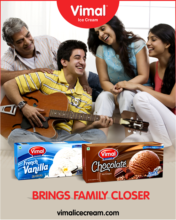 Spend some sweet family time with Vimal Ice Cream.  #IceCream #IceCreamLovers #Vimal #IceCream #VimalIceCream #Ahmedabad
