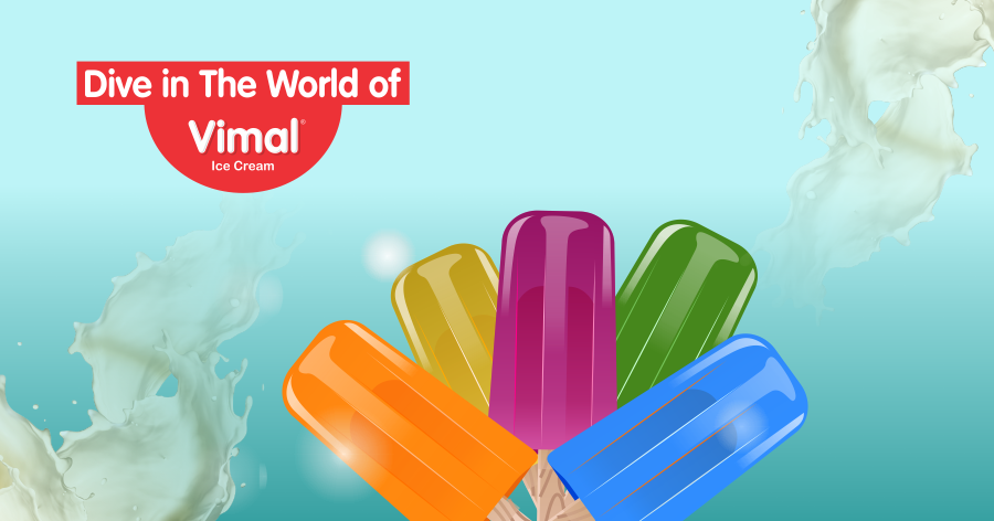 Click on icecream to reach the world of  Vimal Ice Cream.  #IceCreamLovers #Vimal #IceCream #VimalIceCream #Ahmedabad