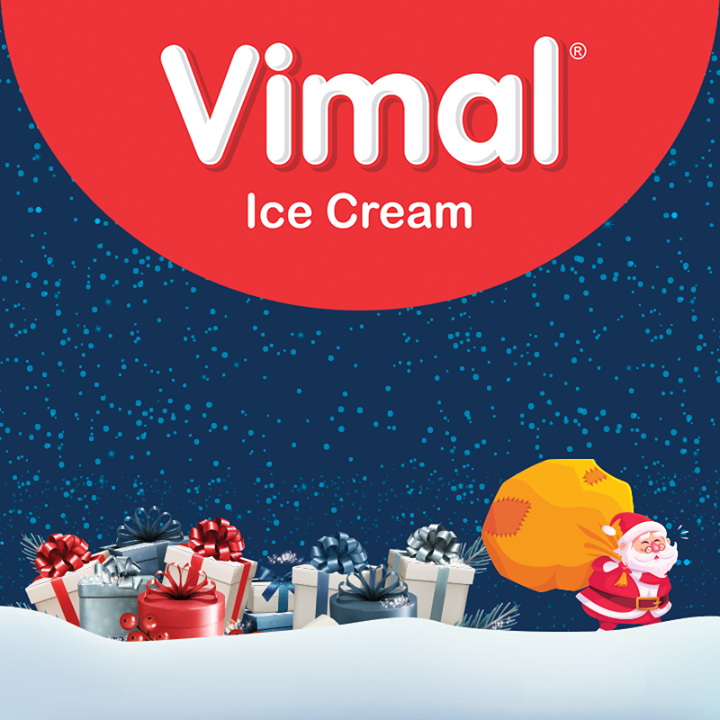 Vimal Ice Cream,  Christmas, MerryChristmas, Christmas2017, Festival, Cheers, Vimal, IceCream, VimalIceCream, Ahmedabad
