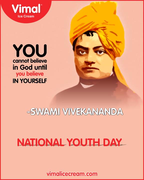 Vimal Ice Cream,  NationalYouthDay, SwamiVivekananda, IceCreamLovers, Vimal, IceCream, VimalIceCream, Ahmedabad