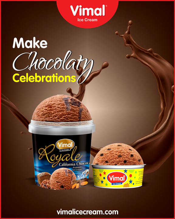 Celebrate chocolate day in a cool way with chocolate cup from Vimal Ice Cream.  #IceCreamLovers #Vimal #IceCream #VimalIceCream #Ahmedabad