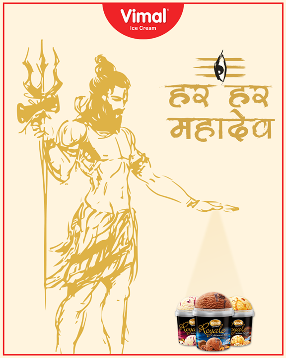 Wishing you all a very happy and blessed Maha ShivRatri..♥️🕉️  #HappyMahaShivratri #MahaShivratri #Shivratri #LordShiva  #IceCreamLovers #Vimal #IceCream #VimalIceCream #Ahmedabad