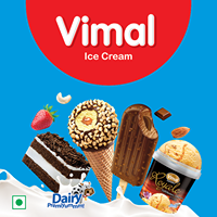 Be ready for summer with new Hello cones from Vimal Ice Cream.  #CookieSandwichIceCream #IceCreamLovers #Vimal #IceCream #VimalIceCream #Ahmedabad
