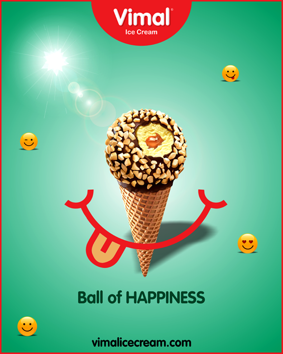 Start your week with the ball cone from Vimal Ice Cream.  #IceCreamLovers #Vimal #IceCream #VimalIceCream #Ahmedabad