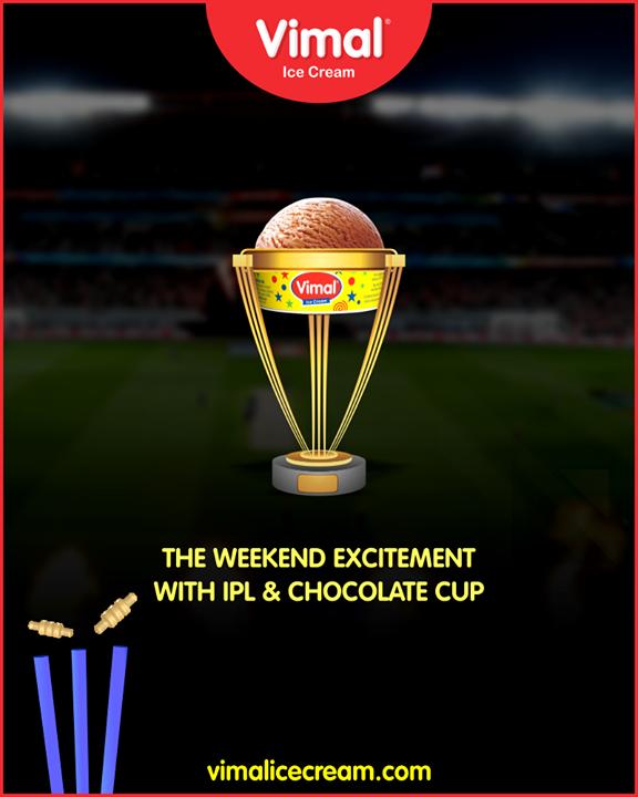 Catch it!  #Cricket #ChocolateCup #IceCreamLovers #Vimal #IceCream #VimalIceCream #Ahmedabad