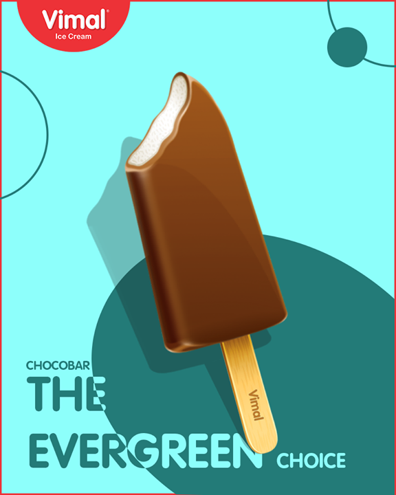 Loved by all, chocobar from Vimal Ice Cream.  #SummerTime #IcecreamTime #MeltSummer #IceCreamLovers #FrostyLips #Vimal #IceCream #VimalIceCream #Ahmedabad