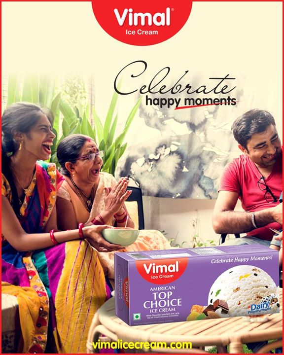 Celebrate happy moments with family packs from Vimal Ice Cream  #Monsoon #IcecreamTime #IceCreamLovers #FrostyLips #Vimal #IceCream #VimalIceCream #Ahmedabad