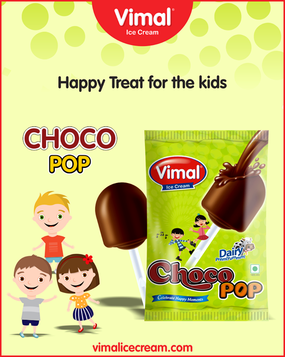 Vimal Ice Cream's Choco Pop to make your little kid happy.  #IcecreamTime #IceCreamLovers #FrostyLips #Vimal #IceCream #VimalIceCream #Ahmedabad