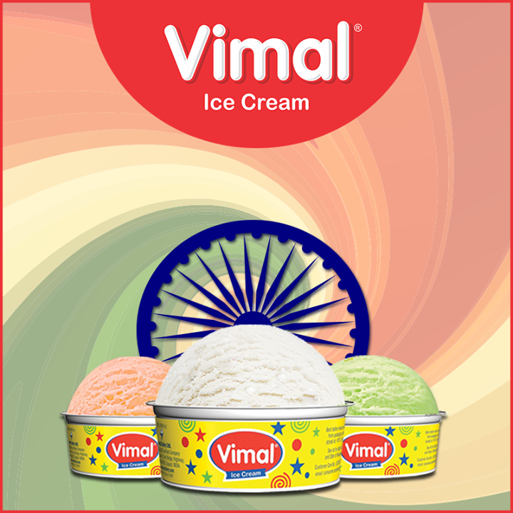 #IndependenceDay #IndependenceWeek #Celebration #15thAugust #Freedom #Vimal #IceCream #VimalIceCream #Ahmedabad
