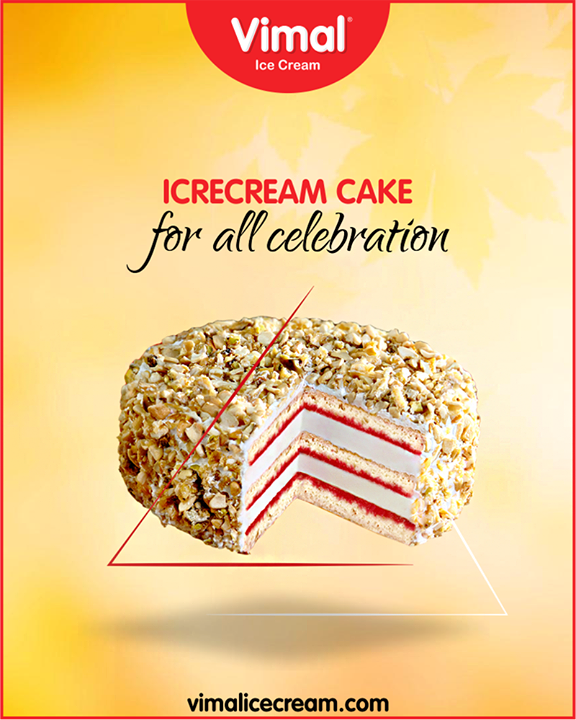 Every celebration need an Icecream Cake from Vimal Ice Cream  #IcecreamCake #IcecreamTime #IceCreamLovers #Vimal #IceCream #VimalIceCream #Ahmedabad