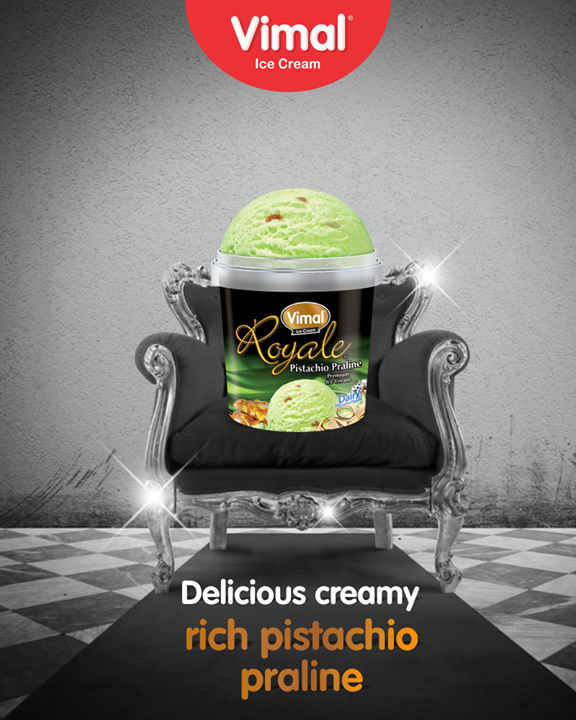 It's time to rejoice! Treat your family with some delicious pistachio praline Icecream  #PistachioPralineIcecream #IceCreamLovers #FrostyLips #Vimal #IceCream #VimalIceCream #Ahmedabad