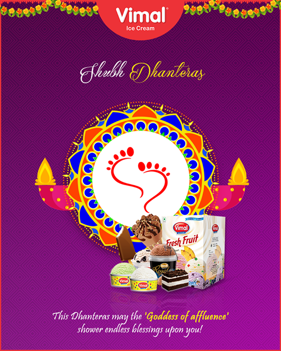 Vimal Ice Cream,  Dhanteras, Dhanteras2018, ShubhDhanteras, IndianFestivals, DiwaliIsHere, Celebration, HappyDhanteras, FestiveSeason, Icecream, IcecreamLovers, LoveForIcecream, IcecreamIsBae, Ahmedabad, Gujarat, India, VimalIceCream