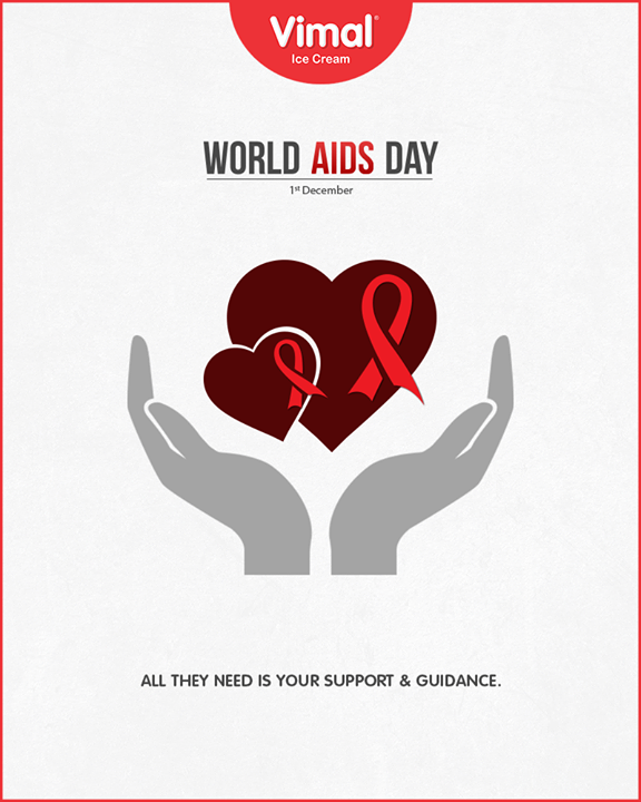 All they need is your support and guidance.  #WorldAidsDay #AidsDay #WorldAidsDay2018 #AidsDay2018 #VimalIceCream #IceCreamLove #LoveForIcecream #IcecreamIsBae #Ahmedabad #Gujarat #India