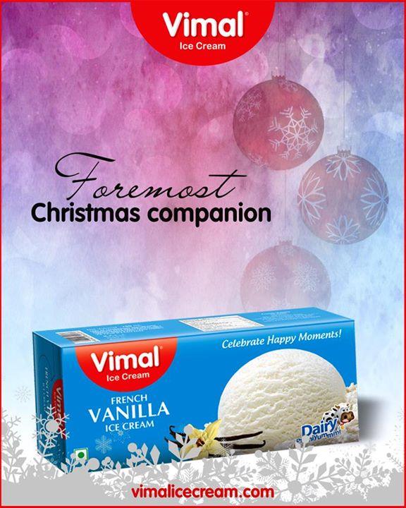 Appease your taste buds with our astonishing French Vanilla Ice-cream!    #VimalIceCream #Icecream #ChristmasCompanion #Christmas2018 #IcecreamLovers #LoveForIcecream #IcecreamIsBae #Ahmedabad #Gujarat #India