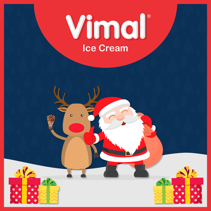 #Christmas #MerryChristmas #Christmas2018 #Celebration #VimalIceCream #Icecream #IcecreamLovers #LoveForIcecream #IcecreamIsBae #Ahmedabad #Gujarat #India