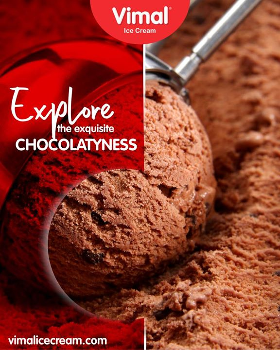 Explore the exquisite #CHOCOLATYNESS at Vimal Ice Cream!   #VimalIceCream #IceCreamLove #LoveForIcecream #IcecreamIsBae #Ahmedabad #Gujarat #India