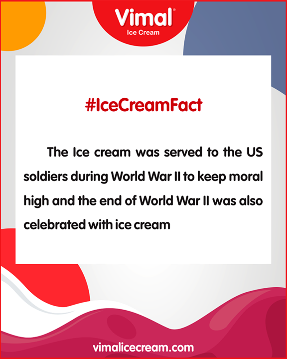 Did you know this amazing fact based on Ice-Cream?  #Celebrations #Icecream #IcecreamLovers #LoveForIcecream #IcecreamIsBae #Ahmedabad #Gujarat #India #VimalIceCream #IceCreamFact