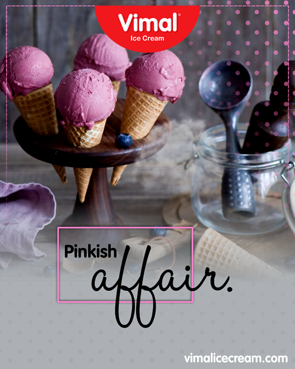 Have a lip-smacking pinkish affair with these mouth melting Ice-Creams!   #Celebrations #Icecream #IcecreamLovers #LoveForIcecream #IcecreamIsBae #Ahmedabad #Gujarat #India #VimalIceCream