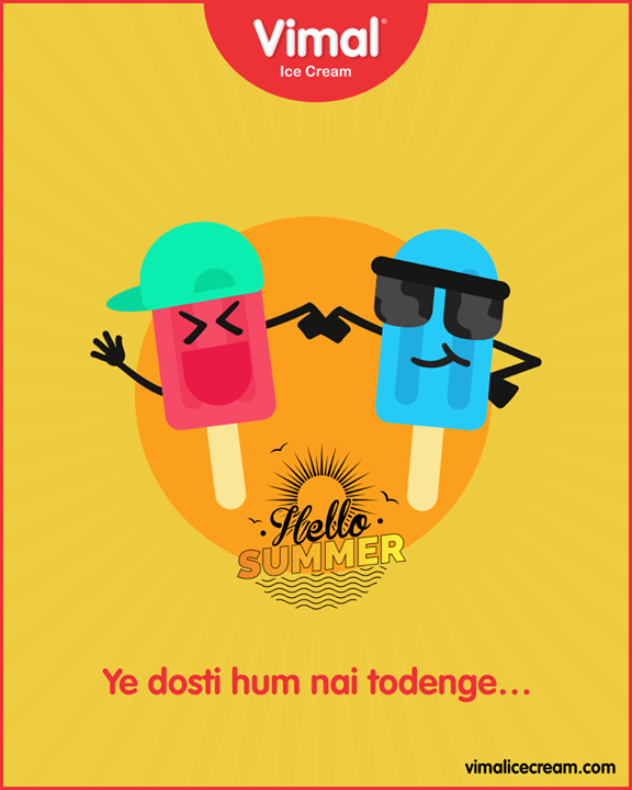 Such eternal bond!   #Celebrations #Icecream #IcecreamLovers #LoveForIcecream #IcecreamIsBae #Ahmedabad #Gujarat #India #VimalIceCream