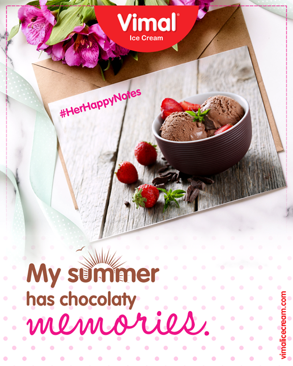 We could literally imagine her back-to-back frequent ice-cream trips to Vimal Ice Cream. Come make this Sunny Season utterly delicious & chocolaty with us!   #IcecreamTime #IceCreasmLovers #FrostyLips #Vimal #IceCream #VimalIceCream #Ahmedabad