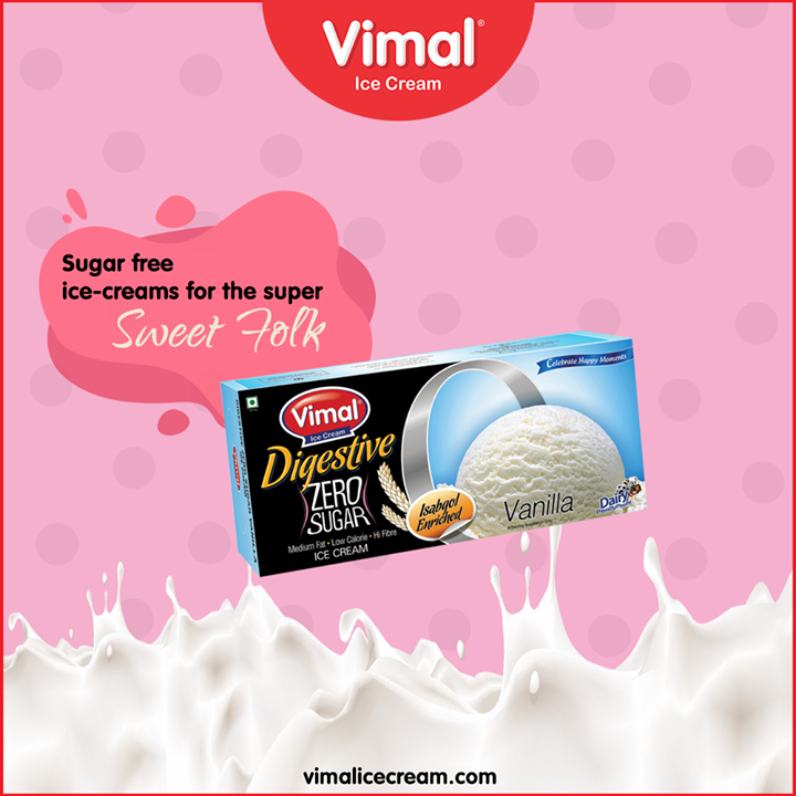 Looking for the sugar-free ice-cream binge?  Consider your search over and prepare to get indulged.  #VimalIceCream #Icecreamisbae #Happiness #LoveForIcecream #IcecreamTime #IceCreamLovers #FrostyLips #Vimal #IceCream #Ahmedabad