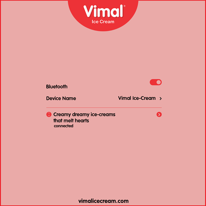 Get connected to #VimalIceCream to treat yourself and your special ones with a versatile range of creamy, dreamy ice-creams that melt hearts.  #Trending #TrendingPosts #LoveForIcecream #IcecreamTime #IceCreamLovers #FrostyLips #Vimal #IceCream #VimalIceCream #Ahmedabad