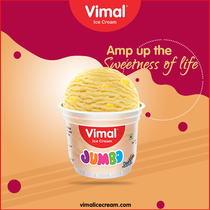 Amp up the sweetness of life with the scoops of frozen happiness.  #IcecreamTime #IceCreamLovers #FrostyLips #Vimal #IceCream #VimalIceCream #Ahmedabad
