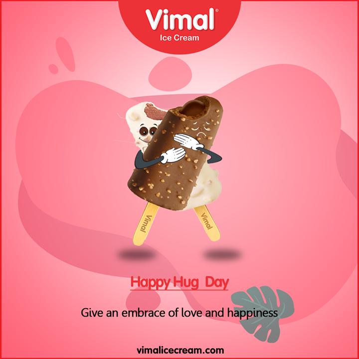 Vimal Ice Cream,  HugDay, ValentineWeek, ValentinesDay, LoveForIcecream, IcecreamTime, IceCreamLovers, FrostyLips, Vimal, IceCream, VimalIceCream, Ahmedabad