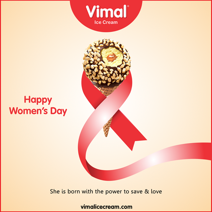 She is born with the power to save & love  #WomensDay #women #WomensDay2020 #RespectWomen #EachforEqual #InternationalWomensDay #InternationalWomensDay2020 #Happiness #LoveForIcecream #IcecreamTime #IceCreamLovers #FrostyLips #Vimal #IceCream #VimalIceCream #Ahmedabad
