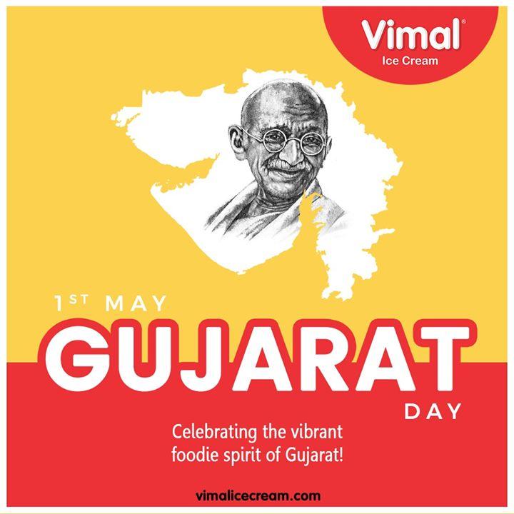 Vimal Ice Cream,  HappyGujaratDay, GujaratDay, GujaratFoundationDay, GujaratDay2020, IcecreamTime, IceCreamLovers, FrostyLips, Vimal, IceCream, VimalIceCream, Ahmedabad
