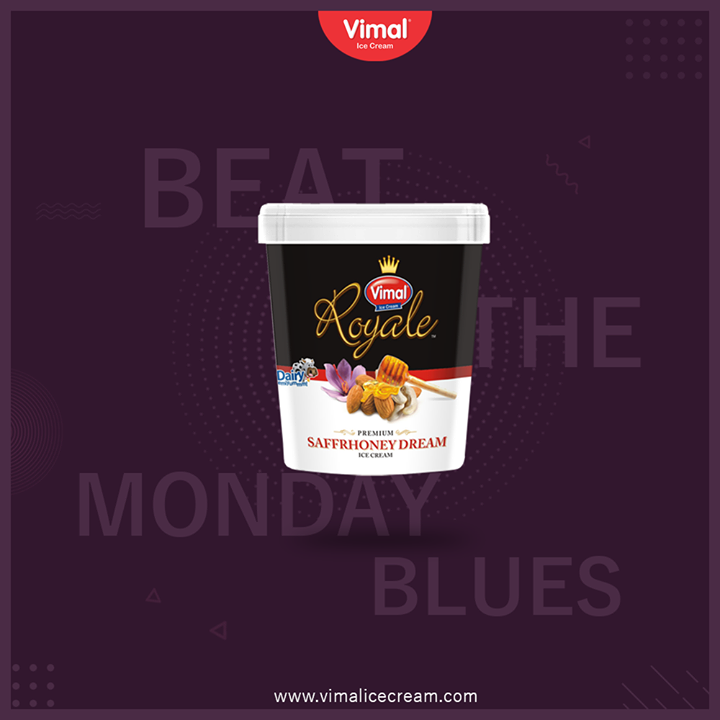 Savour the delectable flavours of our premium tub ice cream and beat the Monday blues with a sweet retreat.  #MondayBlues #IcecreamTime #IceCreamLovers #FrostyLips #Vimal #IceCream #VimalIceCream #Ahmedabad