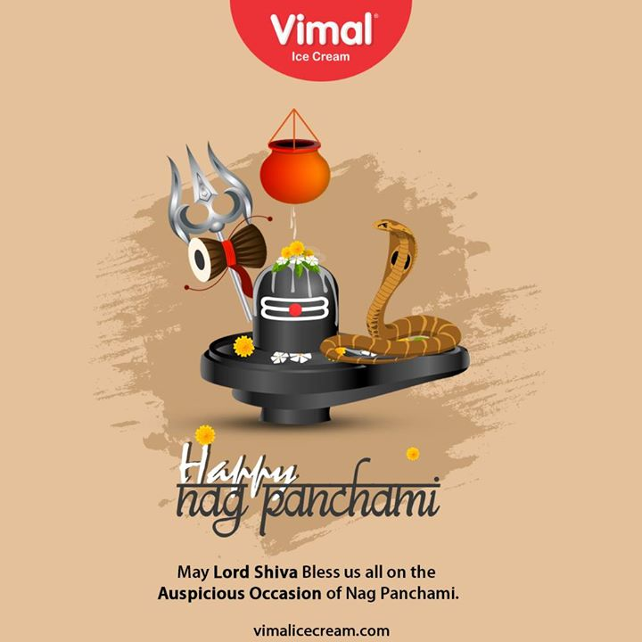 May Lord Shiva bless us all on the auspicious occasion of Nag Panchami.  #HappyNagPanchami #NagPanchami #NagPanchami2020 #IcecreamTime #IceCreamLovers #FrostyLips #Vimal #IceCream #VimalIceCream #Ahmedabad