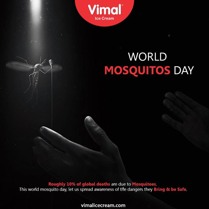 Vimal Ice Cream,  WorldMosquitoDay, WorldMosquitoDay2020, IcecreamTime, IceCreamLovers, FrostyLips, Vimal, IceCream, VimalIceCream, Ahmedabad