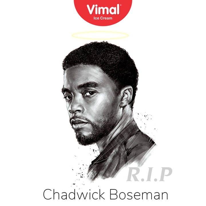 Vimal Ice Cream,  RIP, RIPChadwickBoseman, IceCreamLovers, FrostyLips, Vimal, IceCream, VimalIceCream, Ahmedabad
